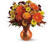 Teleflora's Forever Fall in Longview TX, Casa Flora Flower Shop