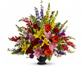 Walk in Rainbows by Teleflora in West Los Angeles, California, Sharon Flower Design
