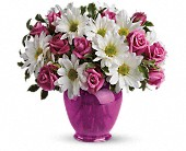 Teleflora's Pink Daisy Delight in Nationwide MI, Wesley Berry Florist, Inc.