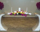Lavish Summer Unity Candle in Green Bay, Wisconsin, Enchanted Florist