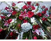 Casket spray in Kingsport, Tennessee, Gregory's Floral