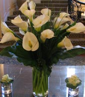 CALLA LILY GRANDUER by Rubrums in Ossining NY, Rubrums Florist Ltd.