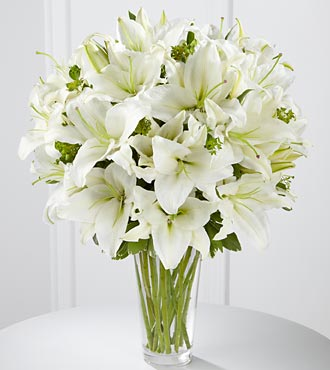 The FTD� Spirited Grace� Lily Bouquet - VASE INCLU in Highlands Ranch CO, TD Florist Designs