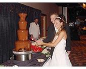 Chocolate Fountain Wedding Receptions in Grand Island, Nebraska, Roses For You!