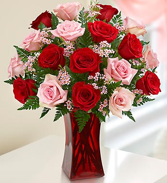Shades of Pink and Red in Woodbridge VA, Lake Ridge Florist
