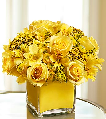 Color of Love-Yellow in Woodbridge VA, Lake Ridge Florist