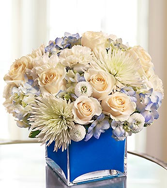 Color of Love-Blue in Woodbridge VA, Lake Ridge Florist