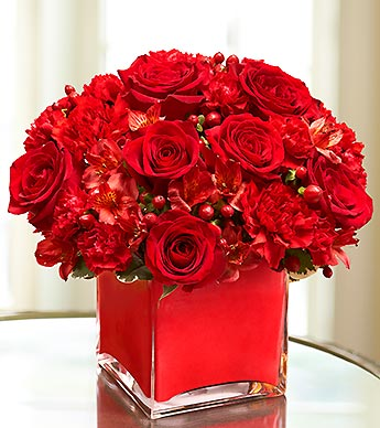Color of Love-Red in Woodbridge VA, Lake Ridge Florist