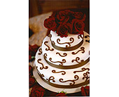 wedding cake in Sevierville, Tennessee, From The Heart Flowers & Gifts