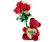 Teleflora's Ghirardelli Bear Bouquet in San Clemente CA, Beach City Florist