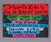 18x24 Mom�s Laugh Rules Canvas  in Tuscaloosa AL, Amy's Florist
