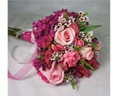 Shades of Pink Cut Flower Bouquet in Amherst NY, The Trillium's Courtyard Florist