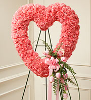 PINK HEART in Woodbridge VA, Lake Ridge Florist