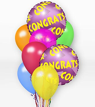 FTD-CONGRATULATION BALLOONS in Woodbridge VA, Lake Ridge Florist
