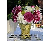 Arrangement in Northridge, California, Flower World 'N Gift