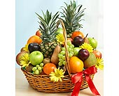 Deluxe All Fruit Basket in Bradenton FL, Ms. Scarlett's Flowers & Gifts