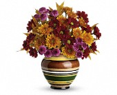 Teleflora's Rings of Autumn Bouquet in Eldora IA, Eldora Flowers and Gifts