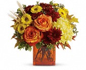 Teleflora's Autumn Expression in Kenosha WI, Strobbe's Flower Cart