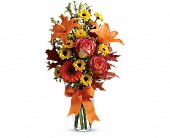 Burst of Autumn in College Station TX, Postoak Florist