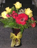 Strawberry Lemonade Bouquet in Lake Charles LA, A Daisy A Day Flowers & Gifts, Inc.