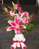 Splash of Pink in Lake Charles LA, A Daisy A Day Flowers & Gifts, Inc.