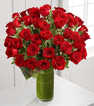 Fate Luxury Rose Bouquet - 48 Stems of 24-inch Pre in Highlands Ranch CO, TD Florist Designs