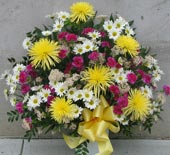 COMFORTING THOUGHTS SYMPATHY BASKET  by Rubrums in Ossining NY, Rubrums Florist Ltd.