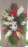 Tender Tribute Spray in Lake Charles LA, A Daisy A Day Flowers & Gifts, Inc.