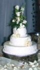 Simply Elegant Cake Decoration in Lake Charles, Louisiana, A Daisy A Day Flowers & Gifts, Inc.