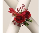 Roses 'N Wire Wrist Corsage in Smyrna GA, Floral Creations Florist