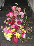 Cascading Colors Bouquet in Lake Charles LA, A Daisy A Day Flowers & Gifts, Inc.