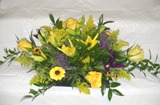 Purple & Gold Modern Bouquet in Lake Charles LA, A Daisy A Day Flowers & Gifts, Inc.