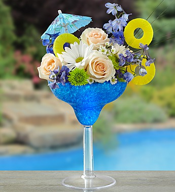 Blue Hawaiian Floral Margarita in Woodbridge VA, Lake Ridge Florist