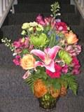 A Blushing Sunset in Lake Charles LA, A Daisy A Day Flowers & Gifts, Inc.