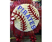 Baseball with Team Lettering in Staten Island NY, Eltingville Florist Inc.