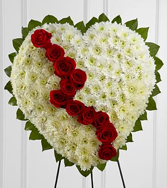 The FTD� Broken Heart� in Highlands Ranch, Colorado, TD Florist Designs