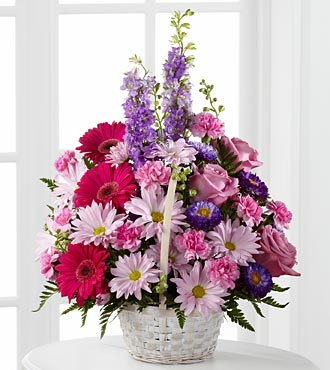 The FTD� Pastel Peace� Basket in Highlands Ranch CO, TD Florist Designs
