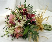 Alstroemeria and Daisy Bouquet in Saratoga Springs, New York, Dehn's Flowers & Greenhouses, Inc