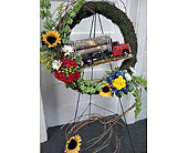 In Remembance of the Logger in Fincastle, Virginia, Cahoon's Florist and Gifts