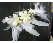 Feathered Hair Piece in San Antonio, Texas, Blooming Creations Florist