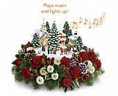 Thomas Kinkade's Christmas Carolers by Teleflora in Toronto ON, LEASIDE FLOWERS & GIFTS