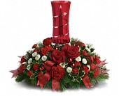 Teleflora's Star Bright Centerpiece in San Clemente CA, Beach City Florist