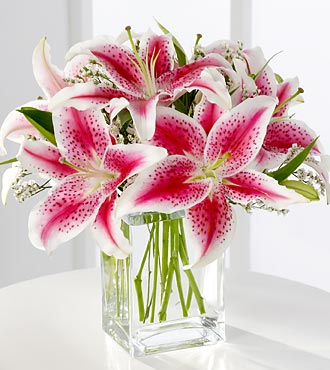 FTD-Pink Lillies in Woodbridge VA, Lake Ridge Florist