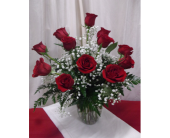 Dozen Red Roses in Wauseon OH, Anything Grows