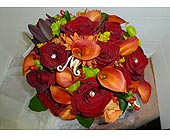 Autumn Personalized with Crystals in St. Petersburg FL, Hamiltons Florist