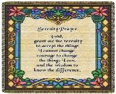 Serenity Prayer Throw Tapestry in Columbus, Ohio, OSUFLOWERS .COM