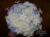 Round Hydrangea and Stephanotis in Elkland PA, The Rainbow Rose