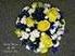 Round Yellow and Blue Bouquet in Elkland PA, The Rainbow Rose