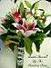 Hand-Tied Lilies and Roses in Elkland PA, The Rainbow Rose