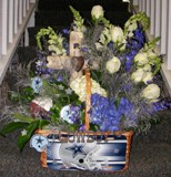 In Memory of the Football Fan in Lake Charles, Louisiana, A Daisy A Day Flowers & Gifts, Inc.